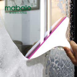 麦宝隆家用浴室胶条擦窗器瓷砖清洗刮水器汽车玻璃擦窗户清洁工具
