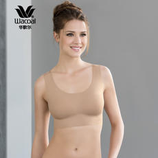 Wacoal Wacoal comfortable and stable seamless bra classic vest type without steel bra WB8616
