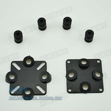 CC3D MINI APM shock absorbing seat plastic integrated shock absorbing plate