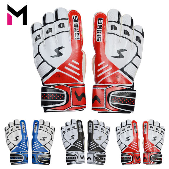 Professional football equipment soccer goalkeeper gloves competition wear-resistant latex tape finger guard gloves