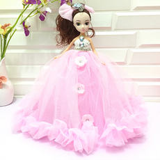 Fashion big wedding doll bar pendant key ring girl toy children puzzle play house doll wholesale