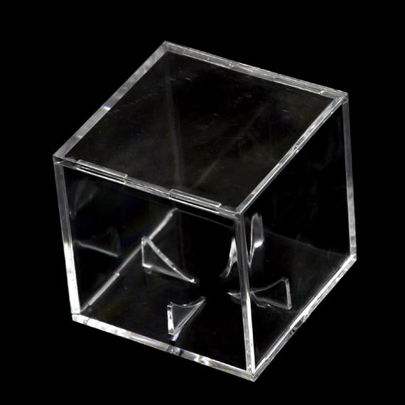 Acrylic transparent baseball display box Base Collection box Dust-proof and moisture-proof plastic decorative box