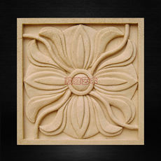 Artificial hollow embossed sandstone art background wall porch screen phoenix flower panel decorative wall panel