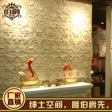 Artificial sandstone TV background wall embossed stone sand sculpture Special artificial sandstone European flower plate factory direct