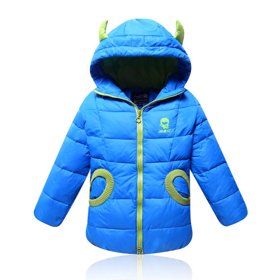 Anti-season promotion children's down jacket wings boys and girls light thin children's wear down jacket long section promotion 5507
