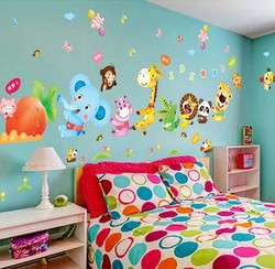 小艾艾  自粘墙壁面装饰品墙贴纸贴画卡通幼儿园卧室宝宝儿童房间床头壁纸