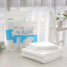 Fasola travels one-time sheets and sheets for travel with double pillowcases and quilts.