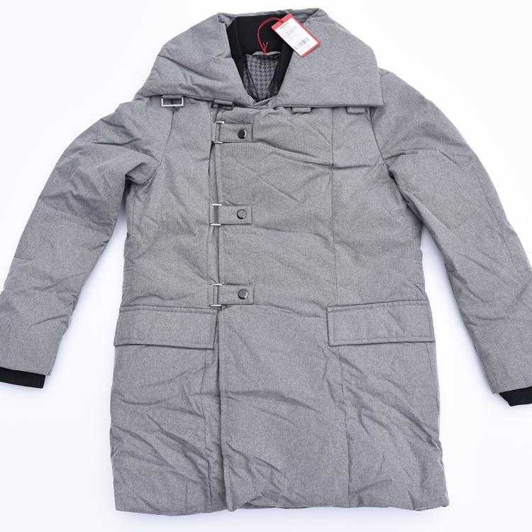 玛萨玛索masamaso男式设计感磁铁吸扣90白鸭绒商务羽绒服清仓甩