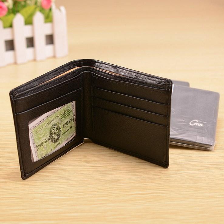 满包邮 钱包男士钱包短款钱夹皮夹青年横款多卡位钱夹商务零钱包