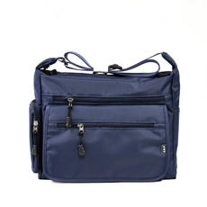 Korean version of the one-shoulder men's bag nylon waterproof bag Oxford outdoor travel Messenger bag office workers in the old young casual