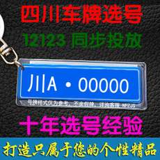 Chongqing, Chengdu, Mianyang, Meishan, the new car on the card selection, self-made license plate occupancy query whether the election is occupied 靓