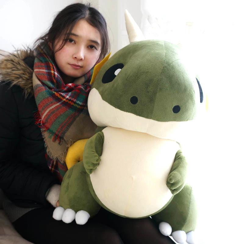 朱一龙同款直播抱枕小飞龙毛绒玩具双角恐龙公仔玩偶居老师抱枕