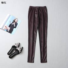 212341 Xia Song tight stitching casual pants