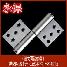 Zhongda into the fire door 4.5x1.9 polished 304 stainless steel flag-shaped detachable hinges security door hinges building s
