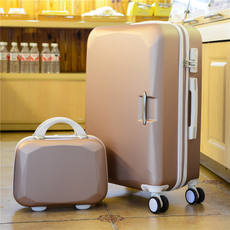 Universal wheel trolley case travel luggage size luggage boarding pass password leather box men and women 20 inch 24 inch 28 tide