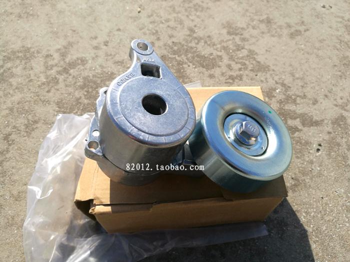 三菱北京欧蓝德格蓝迪戈蓝风扇发电机皮带涨紧轮4G64/69调整器