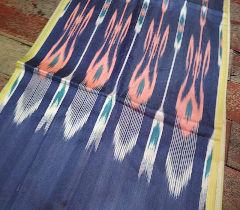 新疆和田手工制作纯丝维吾尔族艾德莱斯宽幅40Ccm礼品特价