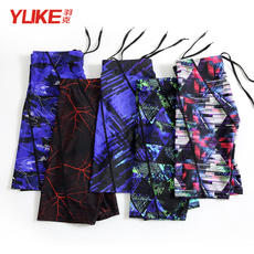 Yuke swimming trunks men's boxer five-point speed dry loose swimsuit hot springs large size swimming equipment fashion beach pants