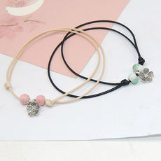Ceramic jewelry transfer student evil spirits simple fresh bells anklet small bracelets stalls jewelry store small commodities