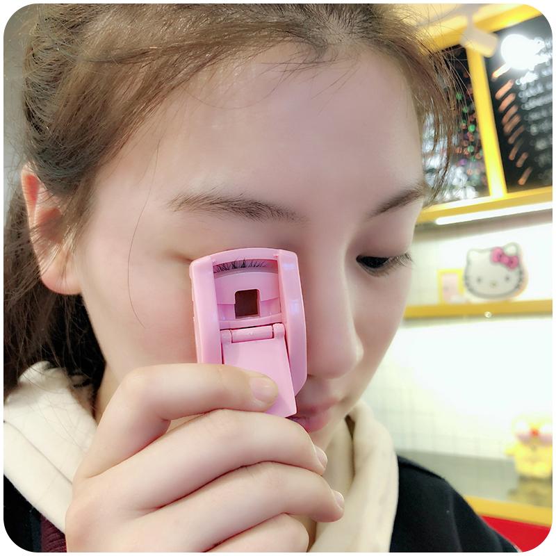 便携式睫毛夹卷翘器化妆师专用局部持久定型工具广角抖音款初学者