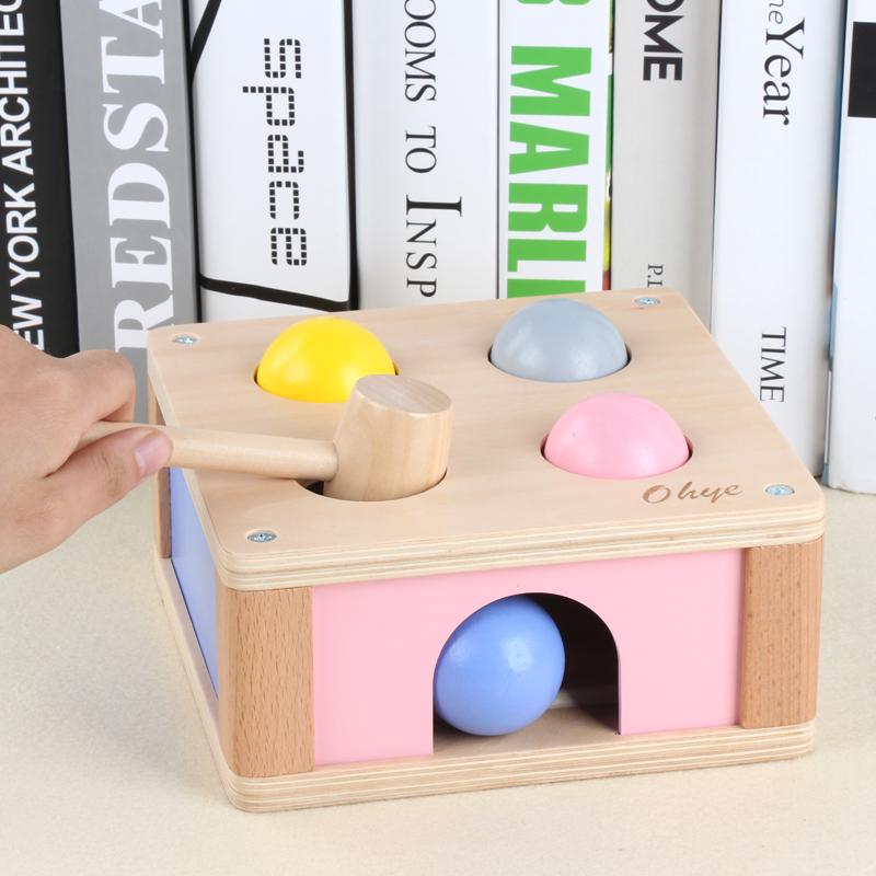 婴儿童早教益智玩具2-3周岁0-1半6个月4宝宝打地鼠幼儿益智力开发