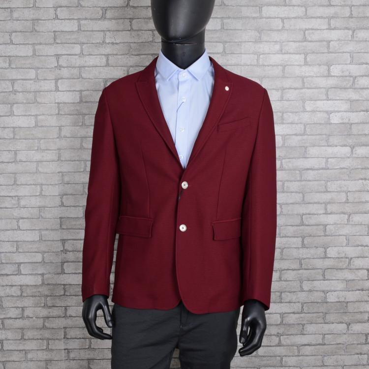威可多专柜男装西服春款桑蚕丝意大利进口面料中开叉 西装
