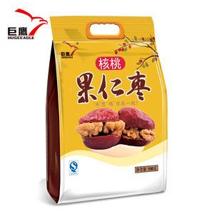 【巨鹰 美仁枣500g】果仁枣陕西特产零食 榆林枣夹核桃仁加大枣