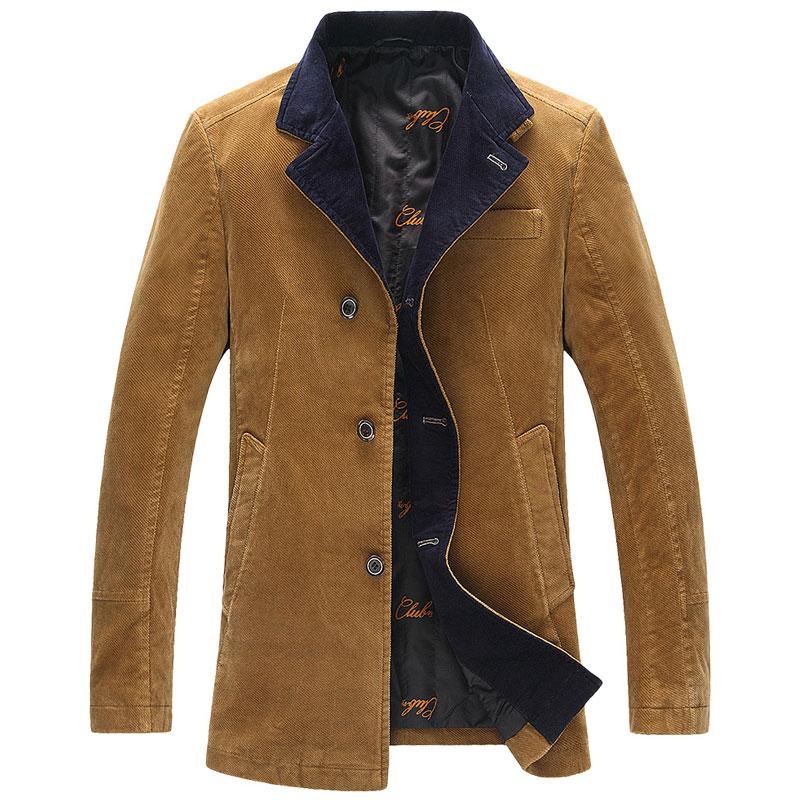 大牌剪标男装冬季棉衣男士纯色宽松休闲大衣外套