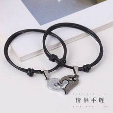 Couple bracelets a pair of Mori men and women retro hand rope Korean version of the simple bracelet student girlfriends jewelry bracelet