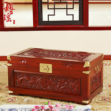 Boyao camphor wood box wedding box antique carved dowry box wedding storage box dowry wedding calligraphy box
