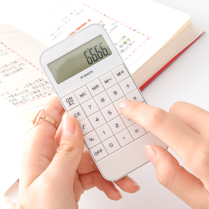 创意简约考试计算器迷你便携学习计算器办公财务10位多功能计算器