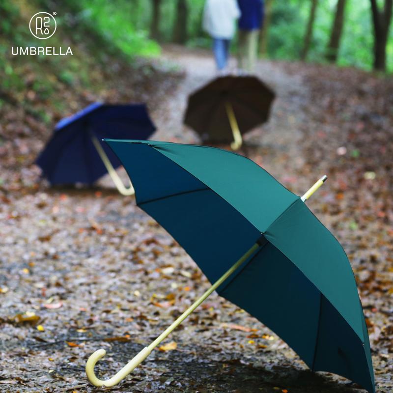 天开谷雨伞晴雨两用长柄大号遮阳太阳伞弯柄双人创意户外潮流木伞