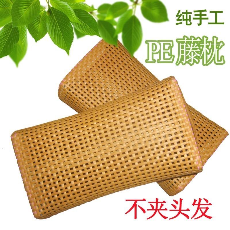 汗蒸房专用天然竹子枕长方形单人护颈椎凉席保健空心枕头新品热卖