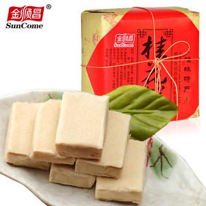 金顺昌广西桂林特产食品老人零食店糕点桂花糕板栗糕糯米糕160G*4
