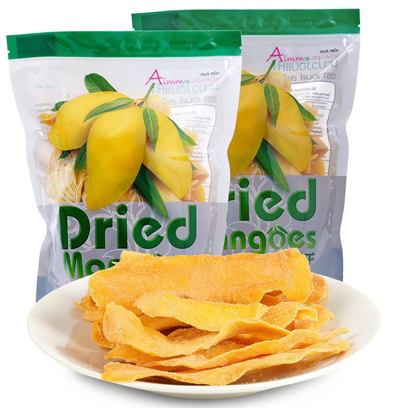 Aimm's snack泰国进口象牙芒果干800g*2袋王权免税直供