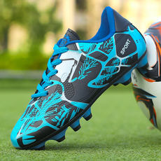 Soccer shoes broken nails men and women primary and middle school students youth non-slip training artificial grass wear children's football shoes