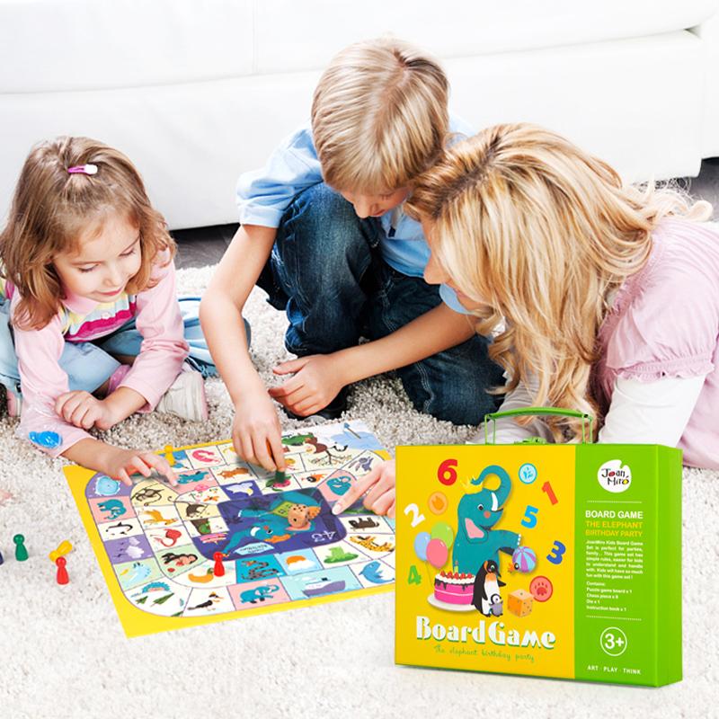 美乐 儿童飞行棋益智游戏棋 卡通幼儿玩具小学生桌游双面大富翁