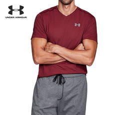 Under Armour An Dema UA Men's Microthread V-neck Short Sleeve T-Shirt-1283380