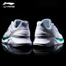 Li Ning men's shoes running shoes 2018 winter new allure couple shoes trend small white shoes casual sports shoes men
