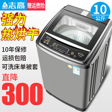 Chigo/志高CHB53753YR washing machine Fully automatic household 8.2KG hot drying wave wheel mini small
