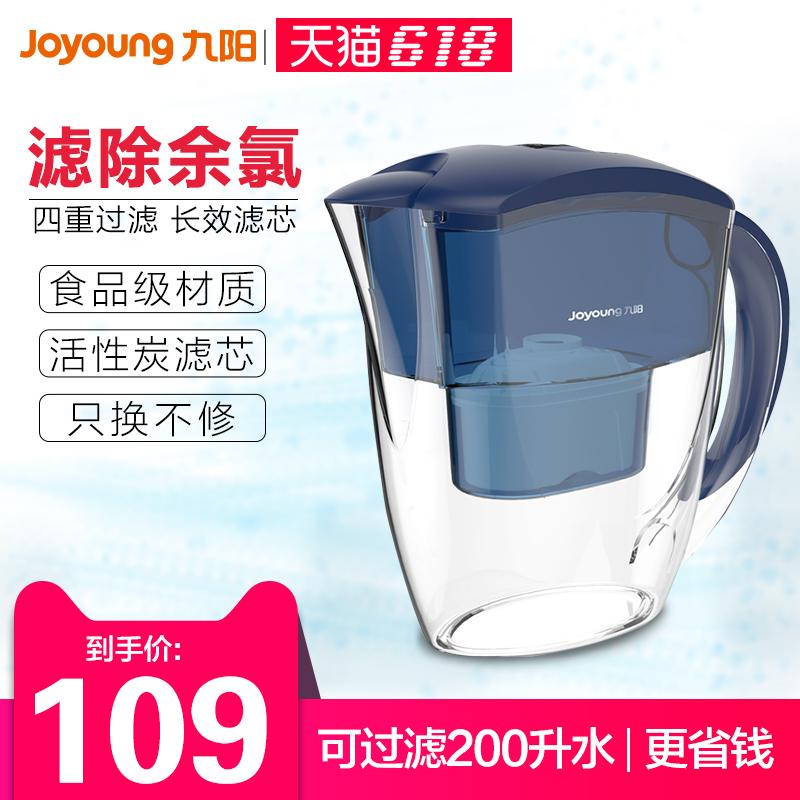 九阳净水壶净水器家用自来水过滤器滤水壶净水杯 JYW-B01B可领取领券网提供的20元优惠券