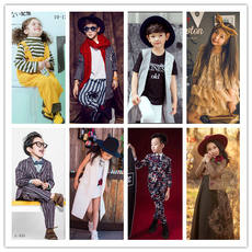 Spring children's photography clothing 10-12 baby photo studio art style photo theme fashion men's tide c-136