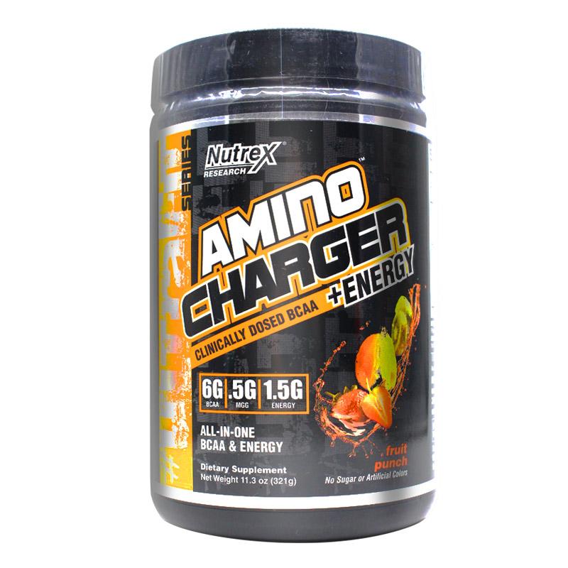 美国进口Nutrex Amino Charger 炽天使支链氨基酸30份健身增肌粉