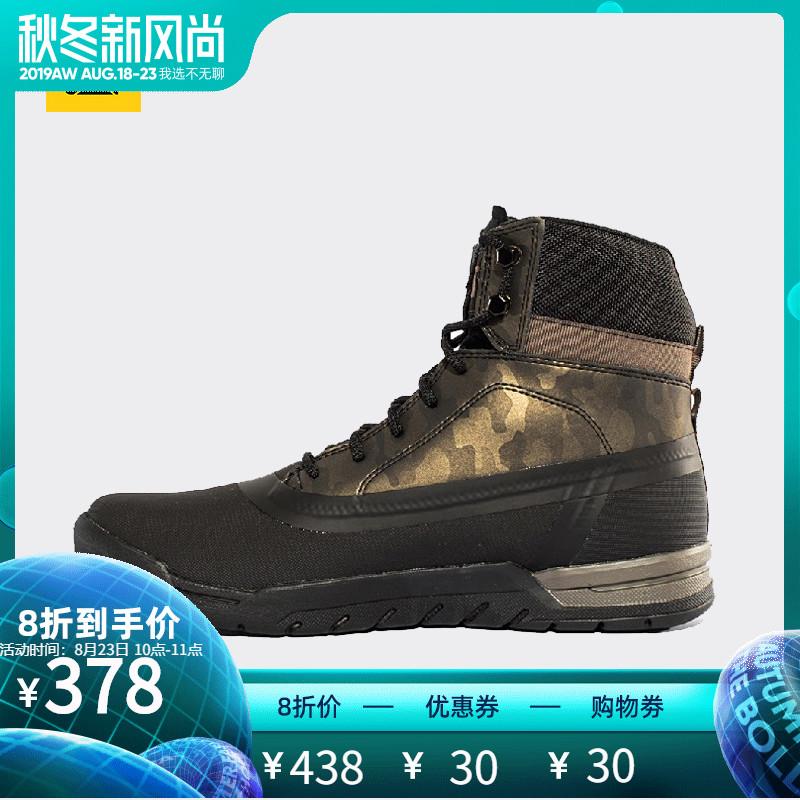 CAT卡特男鞋牛剖层革织物男户外休闲鞋活跃装备P721689G3FDA09