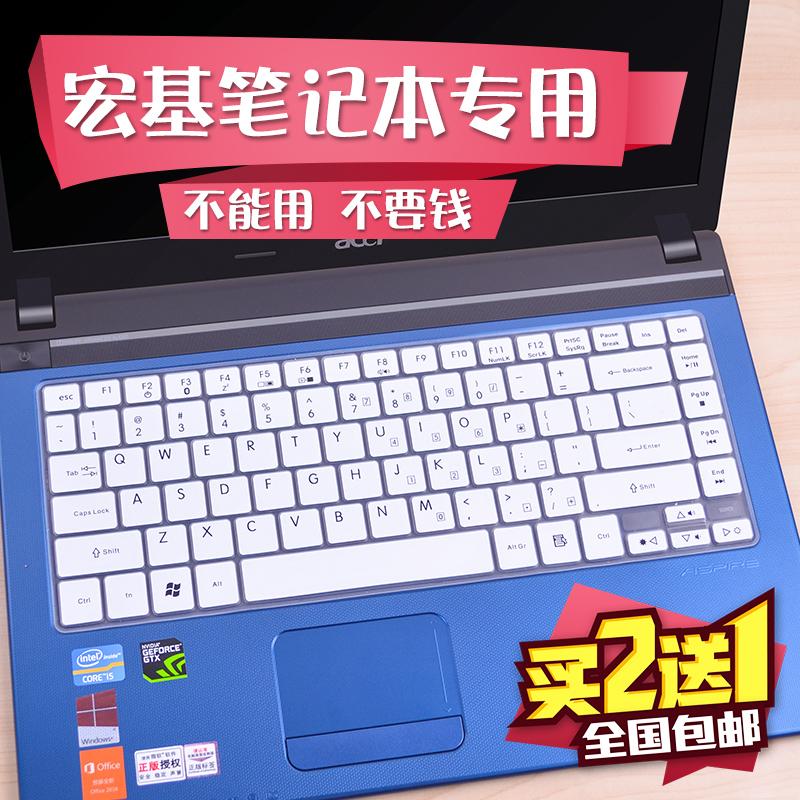 宏基acer笔记本键盘膜14寸4752g 4750g 4741g 4743G 4738zg电脑保护贴膜