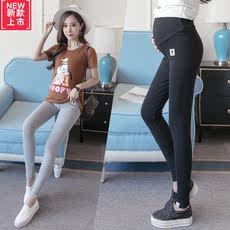 Pregnant women spring leggings 2018 thin section pregnant women pants spring and autumn wear abdominal stomach lift pants 2-5 3-9 months