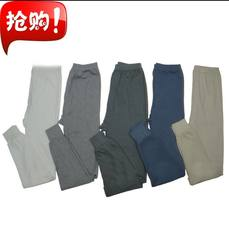 Daily specials 2018 men's cotton warm autumn pants loose comfortable pants pants plus fertilizer to increase 9.9 yuan