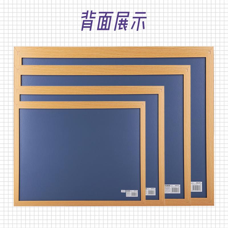 得力软木板照片墙告示留言板图钉挂板留言板创意挂式软木个性创意