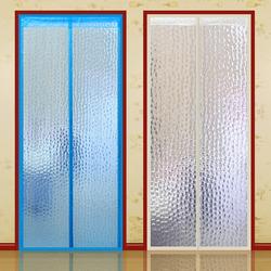 空调门帘冬季保暖防风厨房防油烟家用秋冬季挡风隔断塑料防寒透明