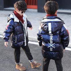男童羽绒服加厚2018新款冬装韩版中大童儿童中长款冬季男孩外套潮
